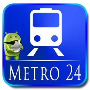 Metro 24 Pro v3.0.9 [Ru/Multi] - удобный навигатор по метро различных городов мира
