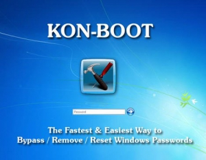 Kon-Boot for Windows 2.7 [En]