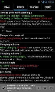 Llama Location Profiles 1.2014.11.20.2330 [Ru/Multi] - Автоматизация Android