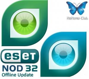 ESET NOD32 4.x/3.x (x32 x64) Offline Update 12172 (август 2015) [Multi/Ru]
