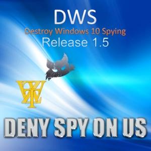 Destroy Windows 10 Spying 1.5 Build 342 [Multi/Ru]