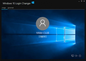 Windows 10 Login Changer 0.0.0.6 [En]
