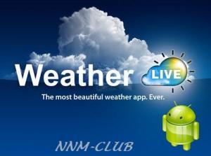 Weather Live with Widgets v4.3 Full [Ru/Multi] - многофункциональный погодный виджет