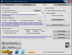 Registry Backup 3.2.1 + Portable [En]