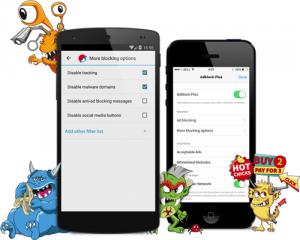 Adblock Browser для Android 1.0.0 [Ru]