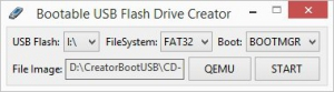 Bootable USB Flash Drive Creator v1.0 [En]