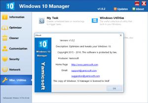 Windows 10 Manager 1.0.2 Final [Eng]