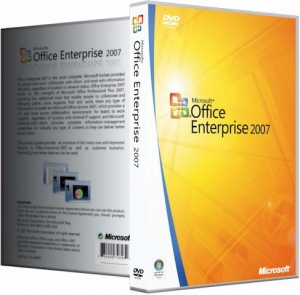 Microsoft Office 2007 Enterprise + Visio Pro + Project Pro SP3 12.0.6798.5000 (2019.01) RePack by KpoJIuK [Multi/Ru]