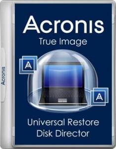 Acronis True Image 19.0.6027 + Universal Restore 11.5.40010 + Disk Director 12.0.3270 BootCD/USB [Ru]