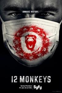 12 обезьян / 12 Monkeys (2 сезон: 1-13 серия из 13) | Baibako