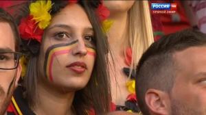Футбол. Чемпионат Европы 2016 (1/8 финала) Венгрия - Бельгия   50 fps