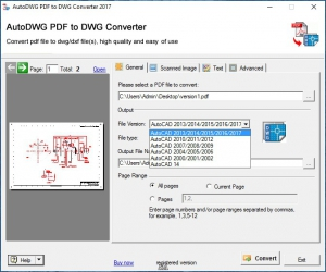 AutoDWG PDF to DWG Converter 3.7 [En]