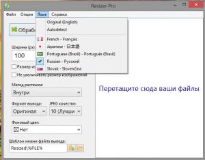 Resizer Pro 1.1 + Portable [Multi/Ru]
