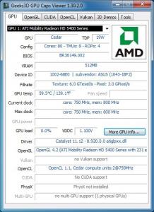 GPU Caps Viewer 1.30.2.0 + Portable [En]