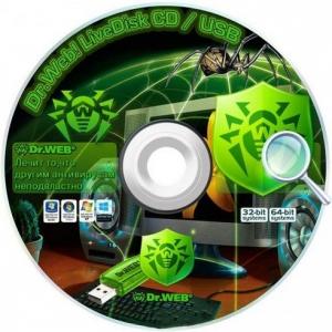 Dr.Web LiveDisk 9.0.0 (28.07.2017) [Multi/Ru]