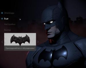 Batman: The Telltale Series - Episode 1-5   RePack от R.G. Freedom