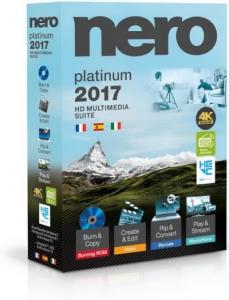 Nero 2017 Platinum 18.0.00300 VL RePack by KpoJIuK (22.11.2016) [Multi/Ru]