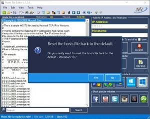 Hosts File Editor 1.2.4 Portable [En/Rs]