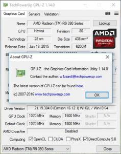 GPU-Z 1.14.0 + ASUS ROG Skin [En]