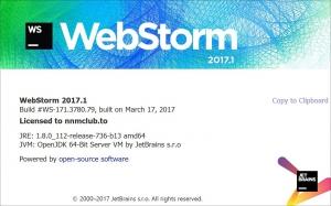 JetBrains WebStorm 2017.1 Build #WS-171.3780.79 [En]