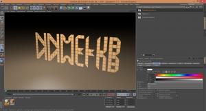 Folding Title GENERATOR 1-0 for Cinema 4D [En]
