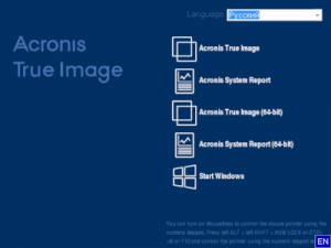 Acronis True Image 2017 New Generation Build 6206 BootCD [Multi/Ru]