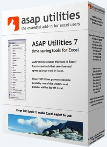 ASAP Utilities for Excel 7.9.3 Home and Student [Multi/Ru]
