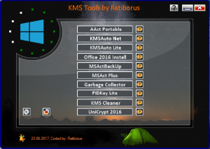 KMS Tools Portable 23.06.2017 by Ratiborus [Multi/Ru]