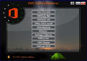 KMS Tools Portable 15.12.2017 by Ratiborus [Multi/Ru]