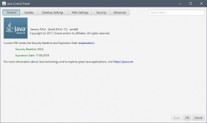 Java SE Runtime Environment 9.0.4 (x64) [En]