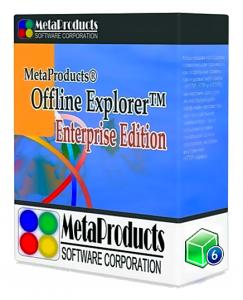 MetaProducts Offline Explorer Enterprise 7.7.4642 SR 1 RePack (& Portable) by TryRooM [Multi/Ru]