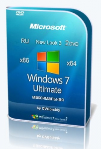 Microsoft Windows 7 Ultimate Ru x86-x64 SP1 NL3 by OVGorskiy® 03.2019 2 DVD