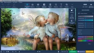 Movavi Photo Editor 6.6.0 RePack (& Portable) by TryRooM [Multi/Ru]