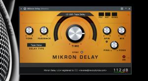 112dB - Mikron Delay 1.0.4 VST, VST3, AAX (x86/x64) [En]