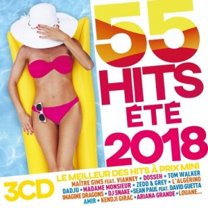 VA - 55 Hits Ete 2018 [3CD]