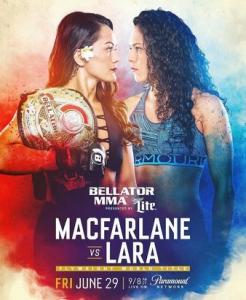 Смешанные единоборства. Bellator 201: Macfarlane vs. Lara + Main Card