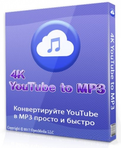 4K YouTube to MP3 3.7.1.2862 RePack (& Portable) by TryRooM [Multi/Ru]