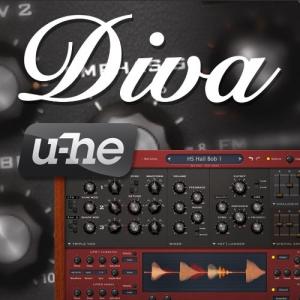 u-he - Diva 1.4.3.9033 VSTi, VSTi3, AAX Repack by VR [En]