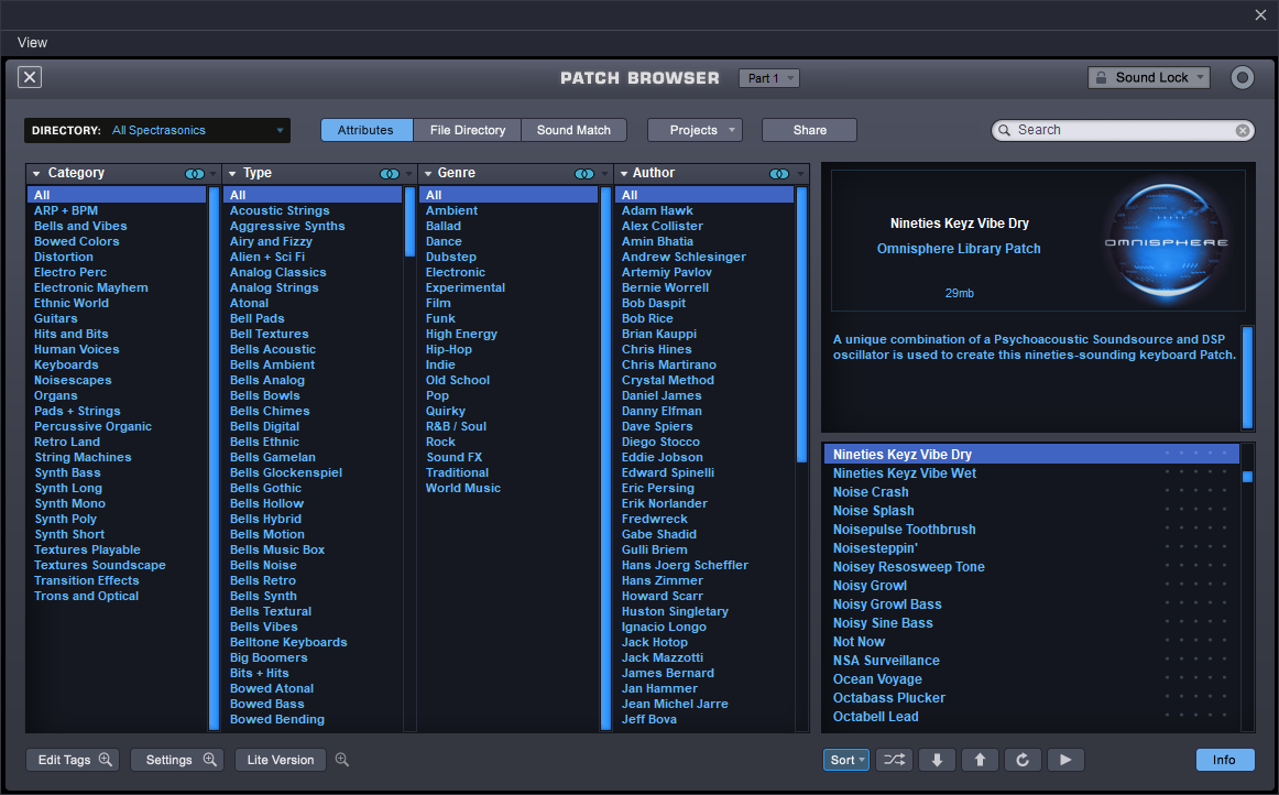 Omnisphere patch data needs to be upgraded to version 2 - Kax