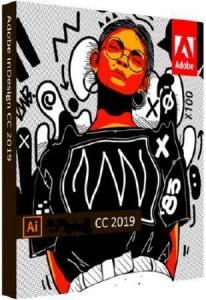 Adobe Illustrator CC 2019 23.0.5.619 RePack by KpoJIuK [Multi/Ru]