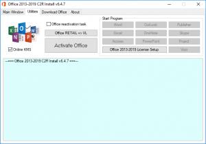 Office 2013-2019 C2R Install + Lite 6.8 Portable by Ratiborus [Ru/En]