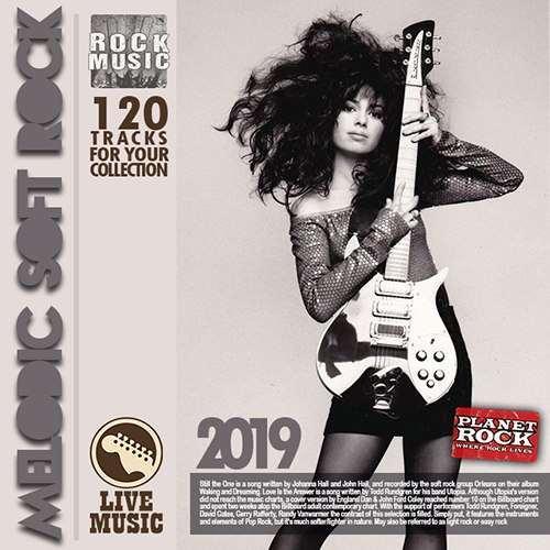 VA - Melodic soft rock (2019)