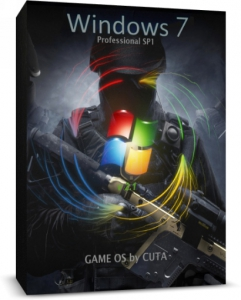 Windows 7 Professional SP1 x64 Game OS 2.7 by CUTA [Ru]
