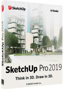 SketchUp Pro 2019 19.2.222 RePack by KpoJIuK [Ru/En]