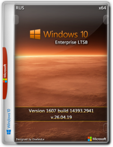 Windows 10 Enterprise LTSB 2016 14393.3300 x64 Rus by OneSmiLe (09.11.2019)