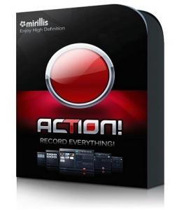 Mirillis Action! 4.0.4 RePack (& Portable) by KpoJIuK [Multi/Ru]