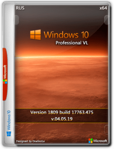 Windows 10 Pro VL 1909 18363.449 x64 Rus by OneSmiLe (04.11.2019)