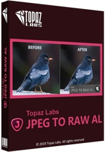 Topaz JPEG to RAW AI 2.2.0 RePack (& Portable) by TryRooM [En]