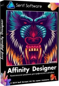 Serif Affinity Designer 1.8.3.641 RePack (& Portable) by elchupacabra [Multi/Ru]
