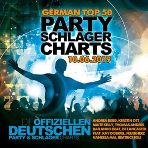 VA - German Top 50 Party Schlager Charts 10.06.2019